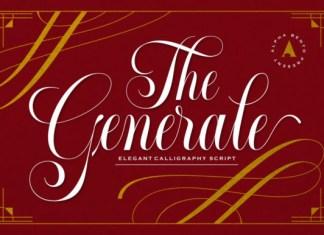 Generale Script Font