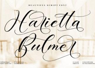 Harietta Bulmer Font