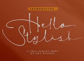 Hello Stylish Font