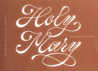 Holy Mary Font