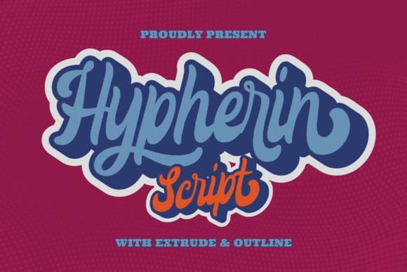 Hypherin Font