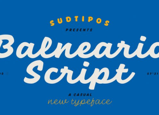 Balneario Script Font