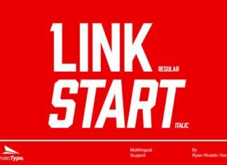 Link Start Font