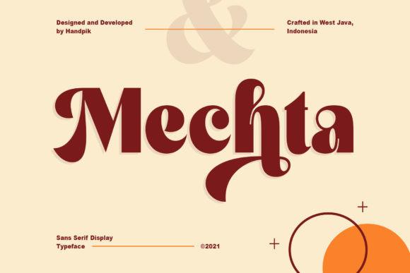 Mechta Font