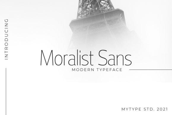 Moralist Sans Font