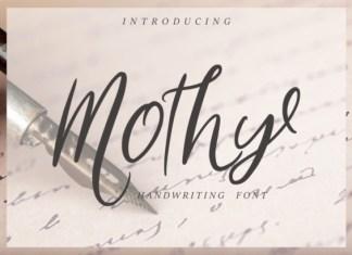 Mothy Font