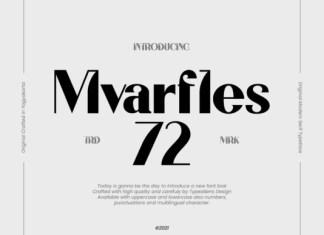 Mvarfles 72 Font