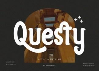 Questy Font