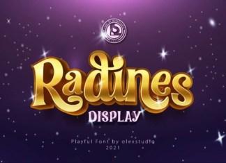 RADINES Font