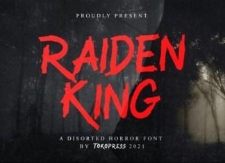 Raiden King Font
