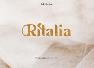 Ritalia Font