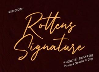 Rottens Signature