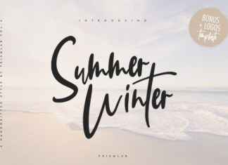 Summer Winter Font