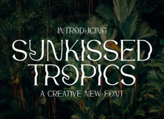 Sunkissed Tropics Font