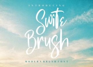Swite Brush Font
