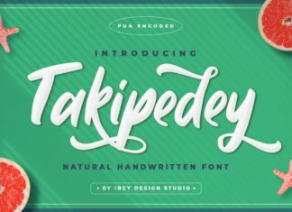 Takipedey Font