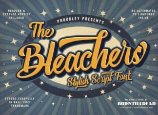 The Bleachers Font