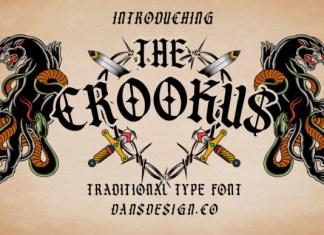 The Crookus Font