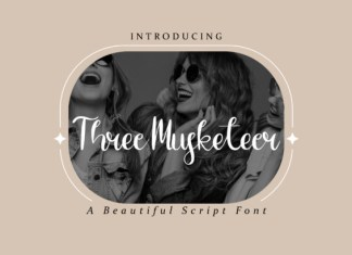 Three Musketeer Font