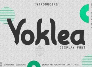 Voklea Font