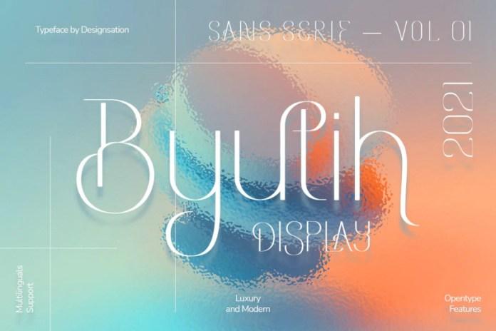 Byutih Font