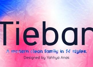 Tieban Font