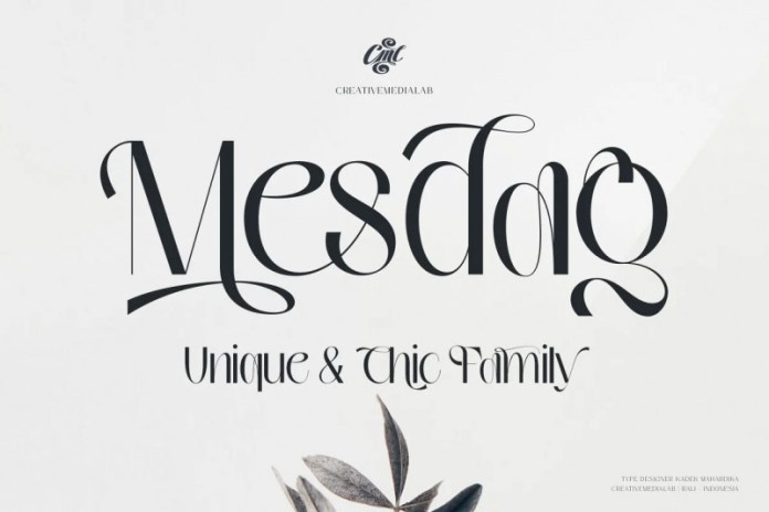 Mesdag Font