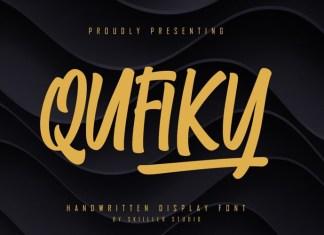 Qufiky Font
