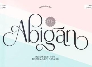 Abigan Font