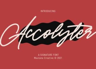 Accolyter Font