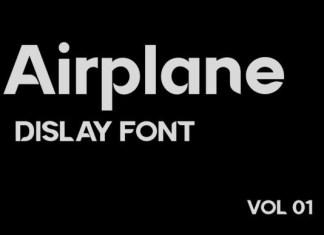 Airplane Font