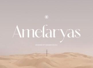 Amelaryas Font