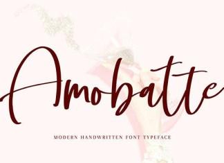 Amobatte Font
