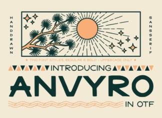 Anvyro Font