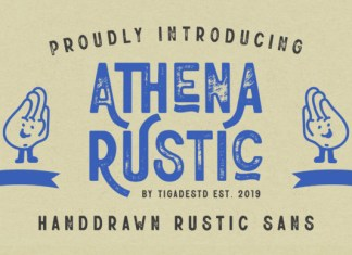 Athena Rustic Font