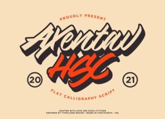 Axentav HSC Font