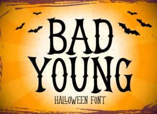 Bad Young Font