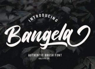 Bangela Font