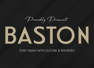 Baston Font