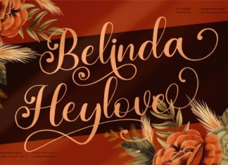 Belinda Heylove Font