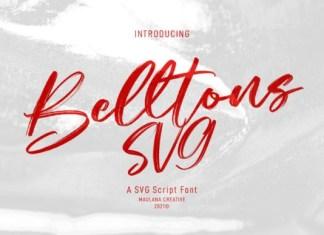 Belltons Font