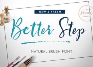 Better Step Font