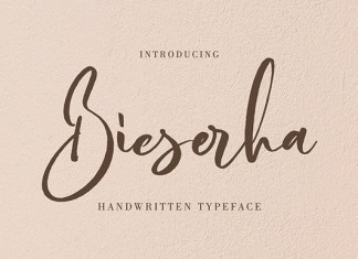Bieserha Font