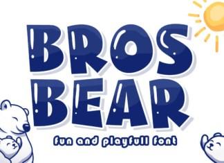 Bros Bear Font
