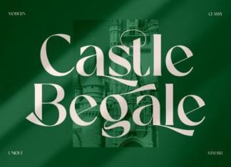 Castle Begale Font