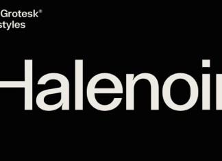 Halenoir Font