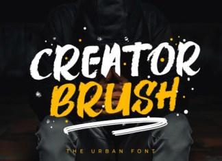 Creator Brush Font