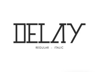 Delay Font