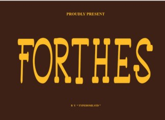 Forthes Font
