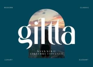 Giltta Font